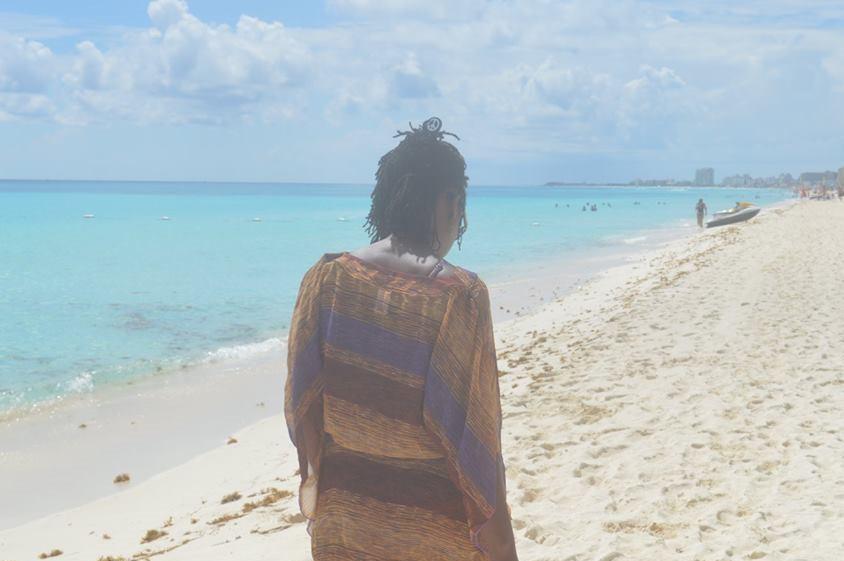 Walking alongside the beach_me_2